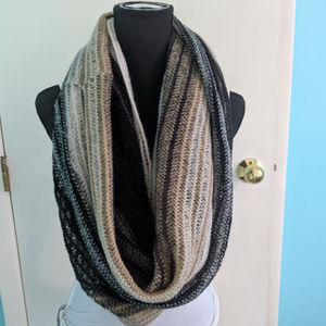 Echo multi-color infinity scarf